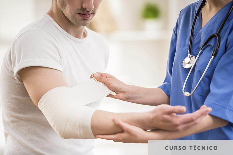 técnico em imobilização ortopédica